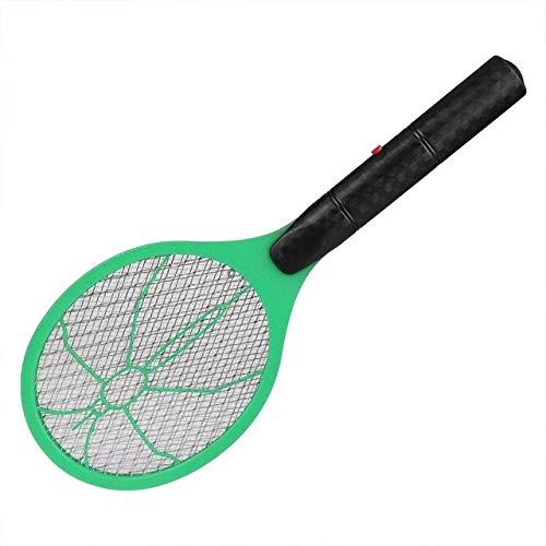 No Controllo delle zanzare IBHT Cordless Batteria zanzara elettrica Mosca zanzara Swatter Bug Zapper Racket Insetti Killer Anti Mosquito Swatter (Red) 1 (Color : Green)