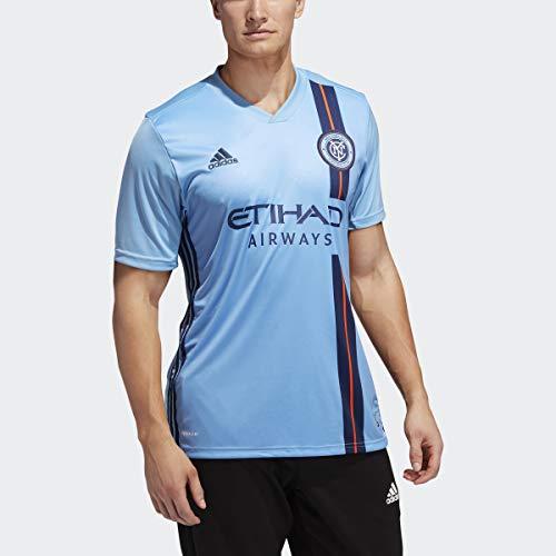 adidas 2020 New York City FC Home Jersey - Sky Blue M