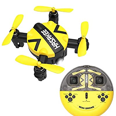HASAKEE Mini Drone with Altitude Hold and Headless Mode RC Quadcopter with 3D Flips and High Speed Spin Function,Portable Pocket Drone for Kids and Beginners