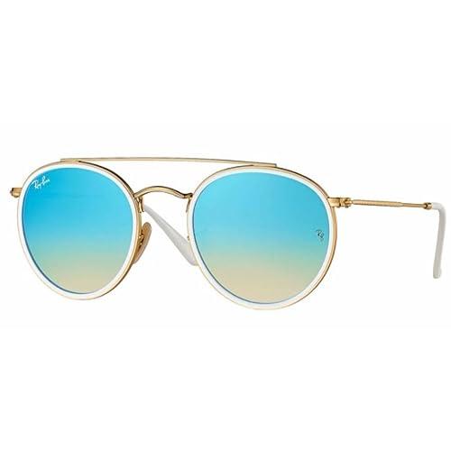 a3036a947e2 Ray-Ban RB3647N Round Double Bridge Sunglasses