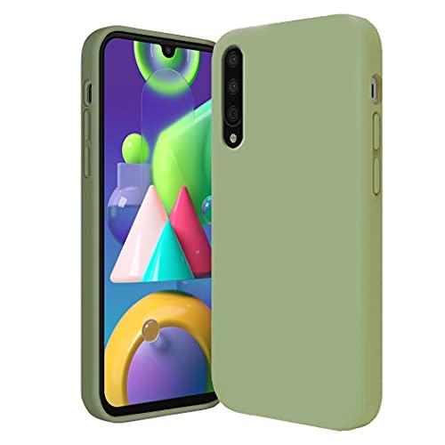 Jancyu kompatibel mit Xiaomi Mi9 Hülle Xiaomi Mi9 SE Hülle Silikon Handyhülle Ultra dünn Flüssiges Stoßfest Handy Backcover Anti-Scratch Anti-Rutsch Schutz Hülle (Grün, Xiaomi Mi 9)