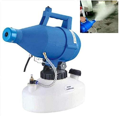 ULV Eléctrico Pulverizador Desinfectante 4.5L eléctrico portátil ULV pulverizador inteligente Fogger máquina Ultra Low Capacidad pulverizador 8M-10M Distancia del aerosol for Interior / Exterior Pulve