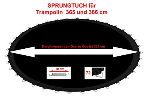 Izzy Trampolin Sprungtuch (365 366 cm 72 Ösen)