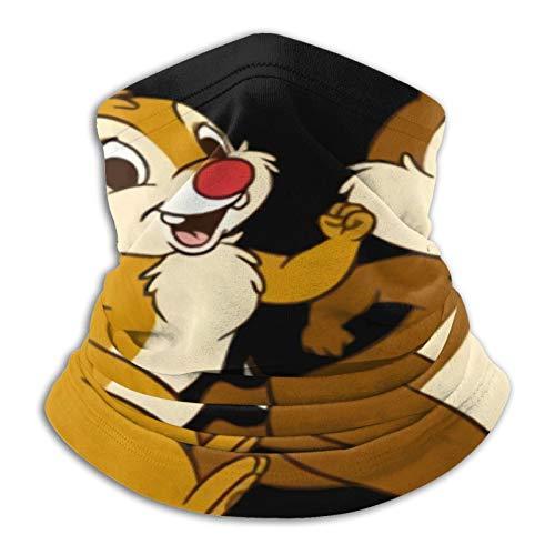 Custom made Chip And Dale - Pasamontañas de forro polar para invierno para hombre y mujer, bufanda de invierno para el frío, resistente al viento, para invierno, moto