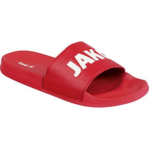JAKO Unisex Jakolette Classico Sandale, Chili rot/weiß, 41 EU