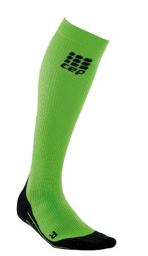 Cep WP40G32 Chaussettes de Compression pour Femme Vert Taille II 25-31 cm