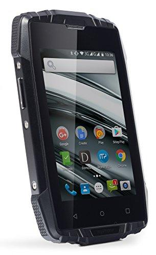 "Hammer Iron 2 Schwarz 4.0"", IP68 Robustes Smartphone, Quad-Core, 2400mAh, Free Dual-SIM 3G"