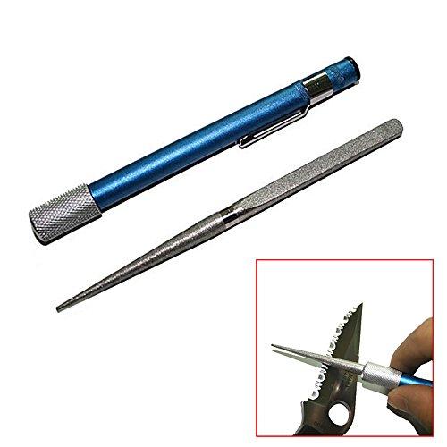 hrph Outdoor Portable Diamant Schleifstein Pen Stick Typ Messer Körnung Messerschärfer Jagd Küche Messer