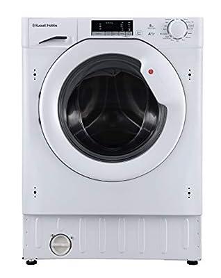 Russell Hobbs RHBI8140WM1 8kg 1400 rpm A+++ Built In Washing Machine