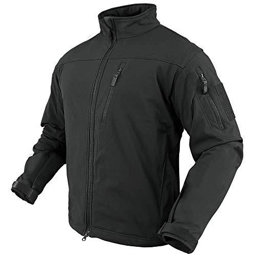 Condor Phantom Soft Shell Jacket (Black, Medium)