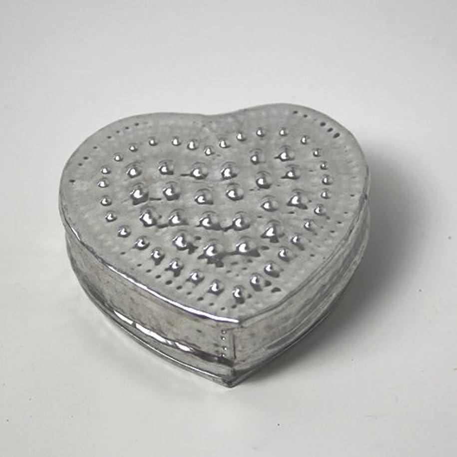 結晶イディオムイディオムアルミアートのボックスにはいったアロマキャンドル?ハート