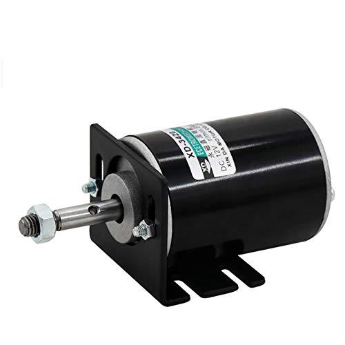 Argerrant 1pc XD-3420-Rasenmäher High Speed 12V / 24V 3500 / 7000rpm universell einstellbar Reversiermotor Low Noise DC Micro Motor 30W DC Motor (Größe : 24V 7000rpm)