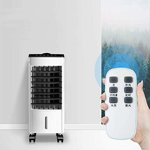 JJZXLQ Aire Acondicionado Ventilador De Refrigeración Doméstica Pequeña Móvil Pequeño Dormitorio De Aire Acondicionado De Aire Acondicionado Ventilador De Refrigeración De Agua De Refrigeración Sola
