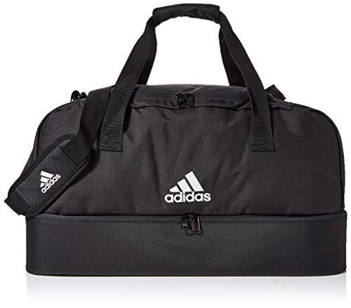 adidas Duffelbag Tiro M, Black/White, One Size, DQ1080