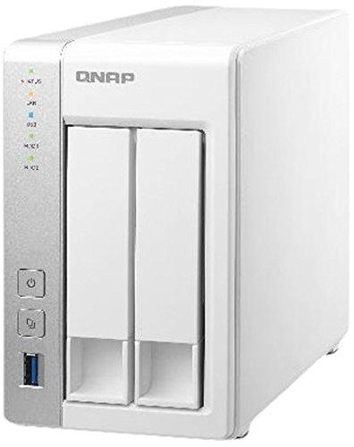 QNAP TS-231 Desktop NAS-System 8TB (2-Bay, 2x 4TB WD Red)