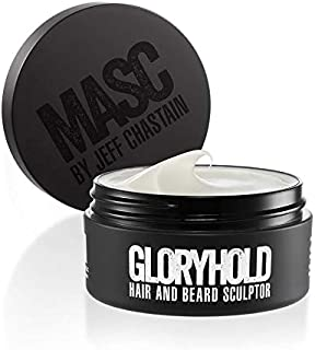 GLORYHOLD Beard Sculptor and Hair Styling Paste from MASC KUSCHELBÄR by Jeff Chastain - 4 oz Magnum Jar, Paraben-free & Cruelty-free - Easy to Use Paste Provides Durable Hold for Beard & Hair