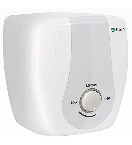 AO Smith HSE-SAS-010 10-Litre 2000-Watt Vertical Water Heater (white)