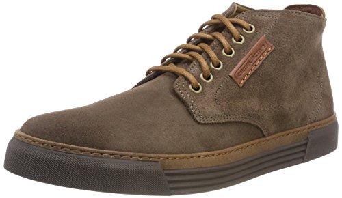 camel active Herren Racket 20 Hohe Sneaker, Braun (Taupe (Mocca) 15), 42.5 EU (8.5 UK)