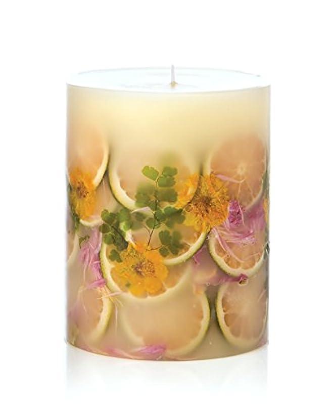 神秘かもめ悩みロージーリングス ボタニカルキャンドル ラウンド レモンブロッサム&ライチ ROSY RINGS Round Botanical Candle Round – Lemon Blossom & Lychee