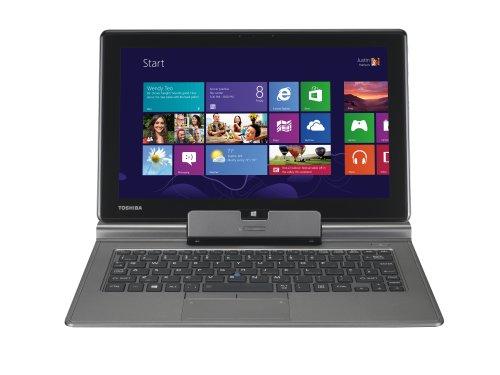 Toshiba Satellite Z10t-106 11.6-inch Touch Screen Notebook (Silver) - (Intel Core i5-3339Y 2.0GHz Processor, 4GB RAM, 128GB SSD, Intel HD Graphics 4000, Windows 8 64 Bit)