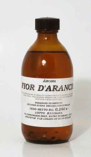 Aroma Fior d'Arancio per dolci torte pasticceria 250 ml Prodotto Professionale