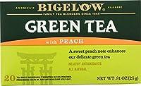Bigelow Tea - ピーチ グリーン ティー - 1ティーバッグ