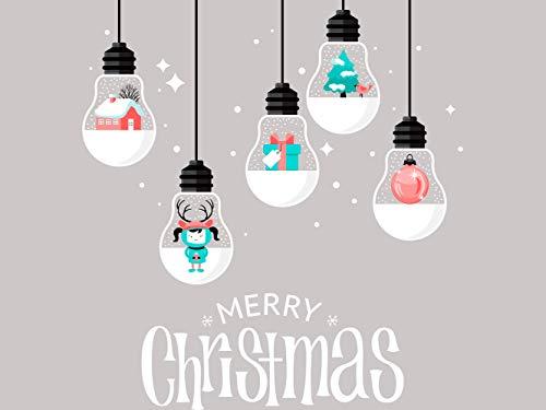 Adhesivos Navidad Escaparates Marca Oedim