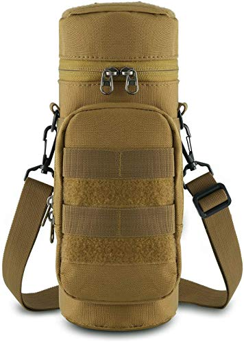 Gocheer Tactical MOLLE Backpack Kettle Bag con Bolsa de Acce