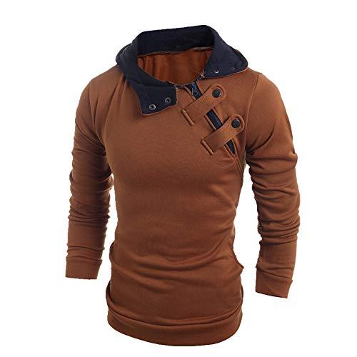 NP Hombres Slim Casual Hombres Descuento Suéter 4 Colores Chaqueta Sombrero Top...