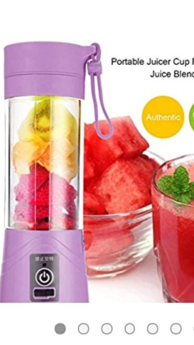 TIRU TRADERS Portable USB Electric Juicer, Blender Drink Bottle Cup (380 ml)