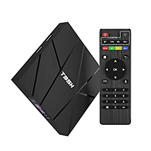 Android TV Box, T95H Android 10.0 TV Box 2 GB RAM / 16 GB ROM Allwinner H616 Quad-Core Soporte 6K / 3D / H.265 Resolución 10/100M LAN Enternet 2.4 GHz WiFi Smart TV Box