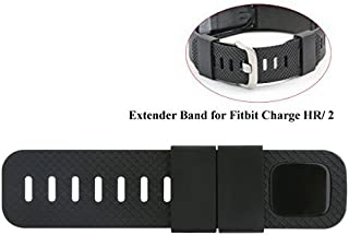 Baaletc Extender Band Compatible for Fitbit Charge 2/3/Fitbit Charge/HR Fitbit Versa Fitness Tracker Wristbands - Designed for Larger Size Wrists or Ankle Wear, No Wristband or Tracker Included
