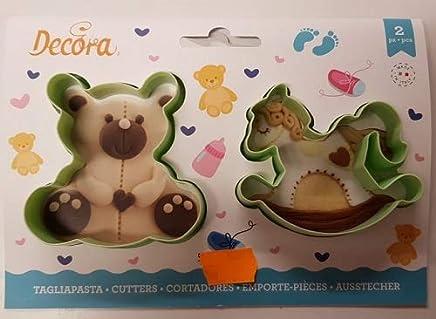 Biscotti Cavallo A Dondolo Pasta Di Zucchero.Amazon It Cavallo A Dondolo Formine Per Biscotti