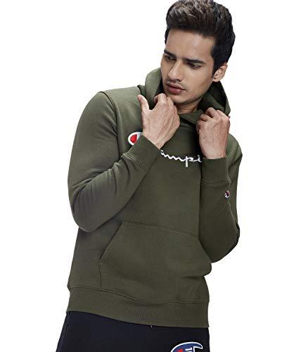Champion Men's Regular Fit T-Shirt (1002462536NAVY_M_Navy_Medium)