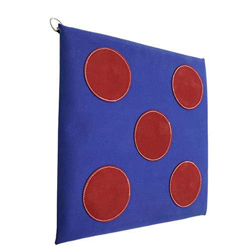 Fechten Schwert Ziel Fechten Hilfstrainingsgeräte-Faser-Material Stoß- Blue