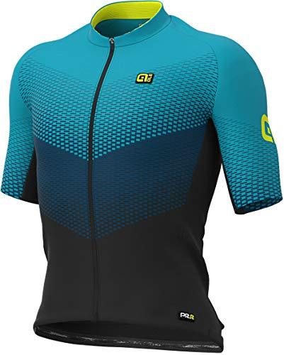 Alé Delta - Maillot de ciclismo para hombre, color turquesa