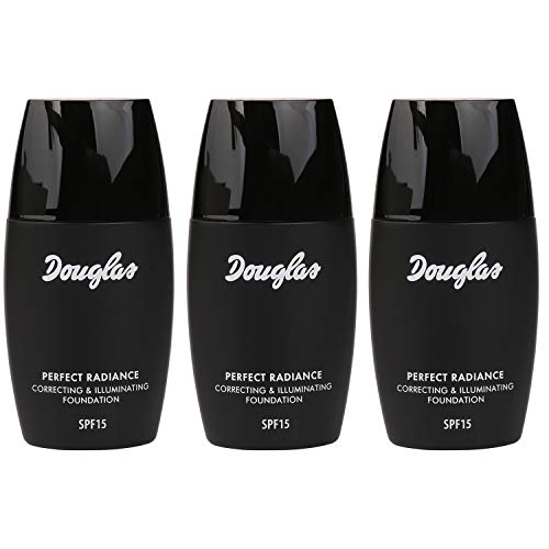 3x Douglas Make-up 965923 Teint Foundation Perfect Radiance So Cream 30 ml Set