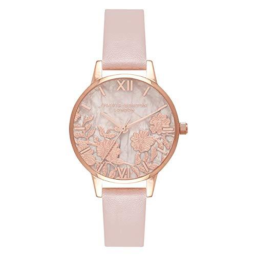 Olivia Burton Reloj para de Cuarzo japonés con Correa en plástico OB16MV84