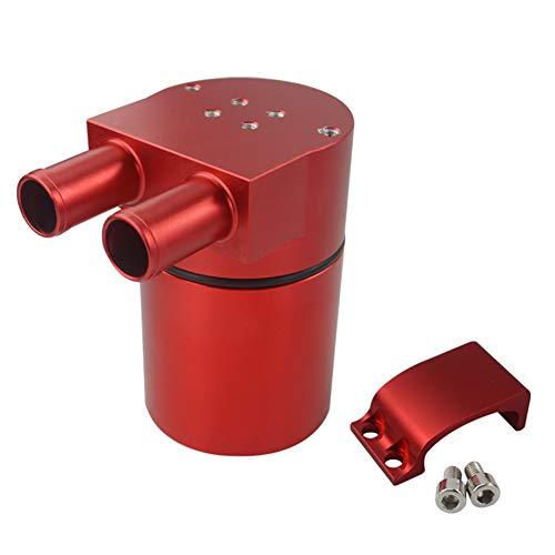 WPFC Aluminiumlegierung Reservior Oil Catch Can Tank Für BMW N54 335 Schwarz, Silber, Rot Und Blau Pqy-TK60,Rot
