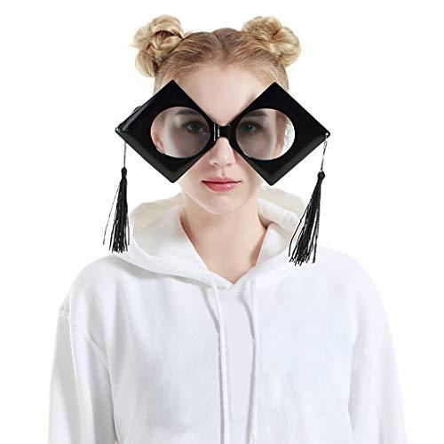 FRAUIT Occhiali Da Festa Divertenti Novità Occhiali Da Sole Party Occhiali Da Vista Bicchieri Per Feste Di Compleanno Occhiali Da Vista Finti Donna Rotondi Occhiali Retrò Fashion Ladies Sunglasses