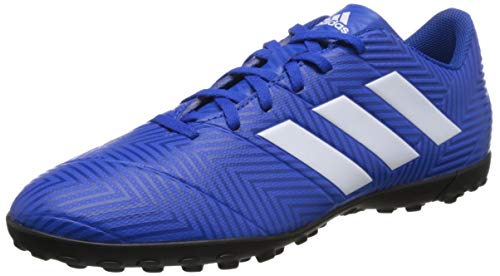 Adidas Nemeziz Tango 18.4 TF, Botas de fútbol para Hombre, Azul (Fooblu/Ftwbla/Fooblu 001), 42 EU