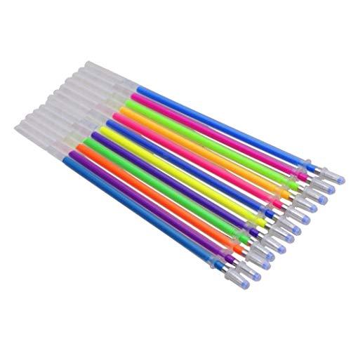 Hahuha Stift ersetzen, Office School 12Colors Refills Marker Aquarell Gel Pen Ersatzteile ersetzen, Büromaterial Dekoartikel Wohnaccessoires Accessoires