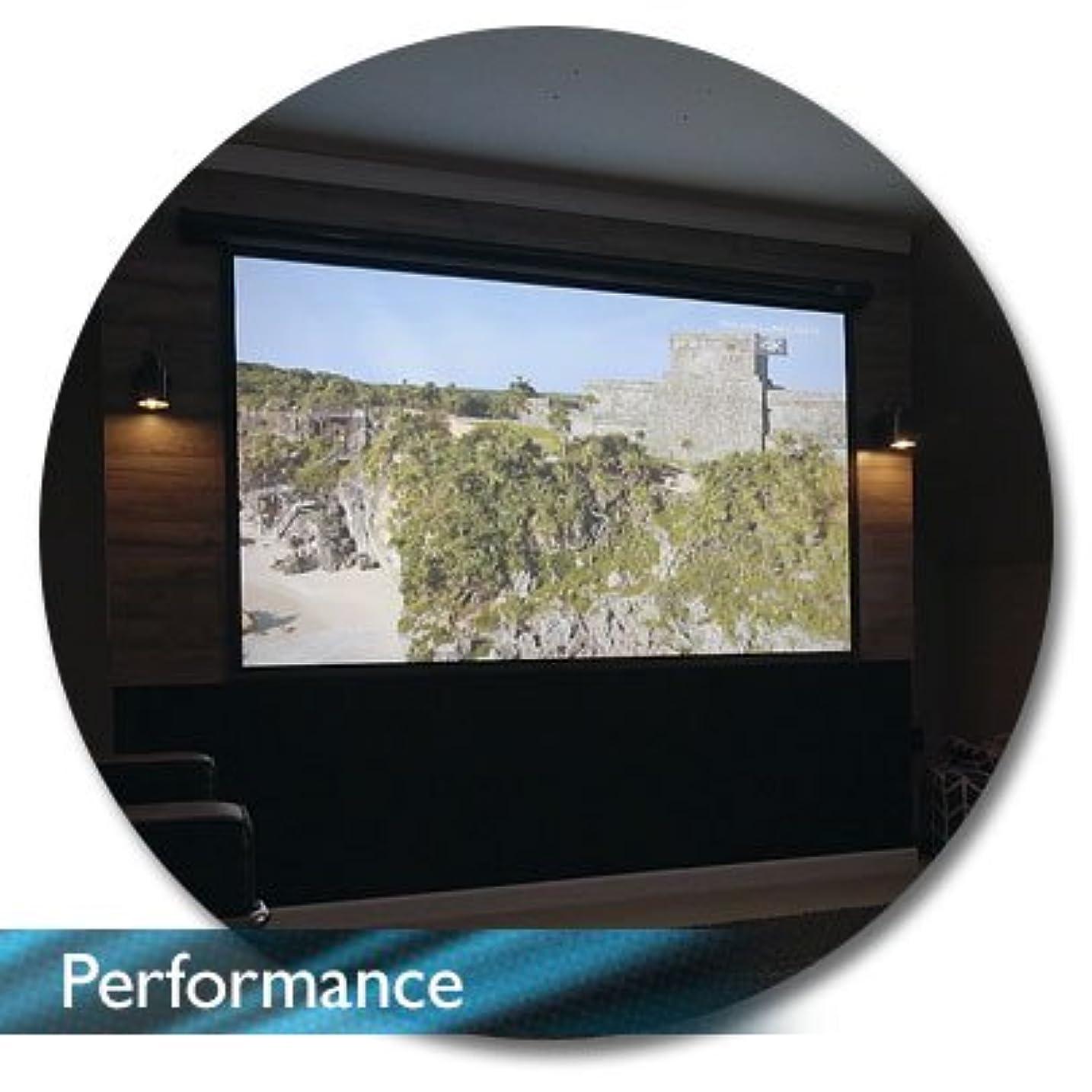 兄弟愛害虫シロクマAKIA スクリーン 電動タイプ 100インチ 画像比率 16:9 プロジェクタースクリーン 4K 高解像度 ホームシアター 天吊り 壁掛け RFリモコン トリガー対応(ブラック)