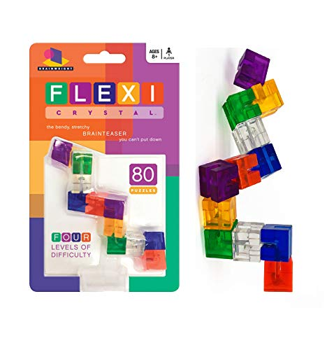 Flexi Puzzle Crystal The Bendy Stretchy Brain Teaser Game