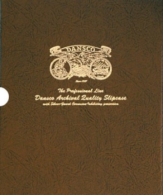 1 1/8 inch Slipcase for Dansco Album 6152 Liberty Seated Half Dollars 1839-1891 . Archival Quality With Silver-Guard…