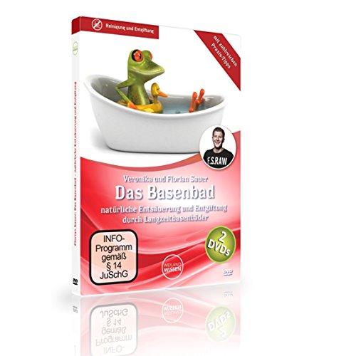 Das Basenbad – natürliche Entsäuerung und Entgiftung des Körpers mit zahlreichen Praxis-Tipps von Florian Sauer, 2er DVD Set