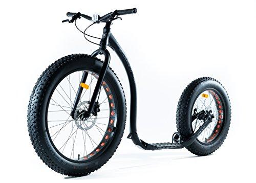 Kickbike FAT MAX - Offroad Tretroller für Erwachsene - Finnscoot