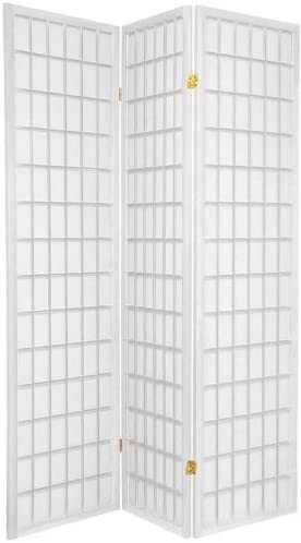 quality assurance Legacy Decor 3-Panels Shoji Screen At the price of surprise Room 5 White X h 71