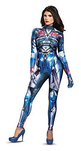 Disguise Damenkostüm Optimus Prime Movie - Blau - Small