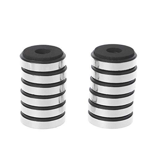 SimpleLife Dämpfung Dämpfung für Audio-Stereo-Lautsprecher Verstärker Füße Pad (Set von 12)